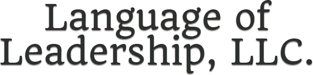 Language of Leadership, Footer Logo