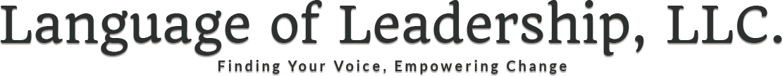 Language of Leadership, Header Logo